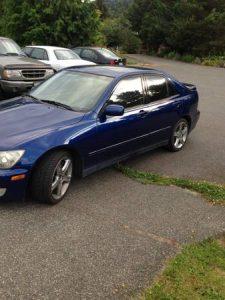 Lexus IS 300 for sale on Craigslist Seattle