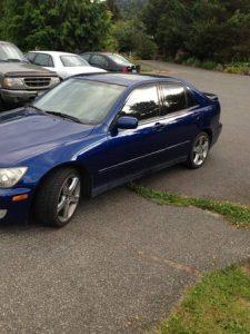 Lexus IS 300 for sale on Craigslist Seattle