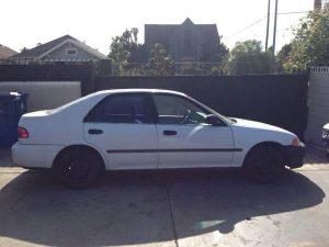 1992 Honda Civic DX 4 Doors for sale