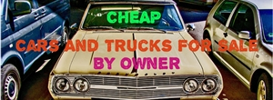 cheap cars and trucks for sale by owner